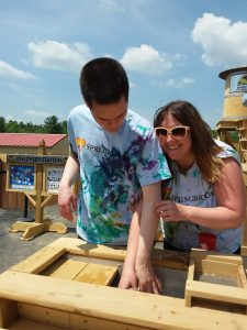 CP and JJ at Animal Adventure Park