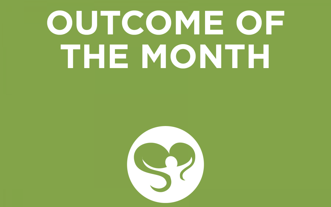 Outcome of the Month – May 2020