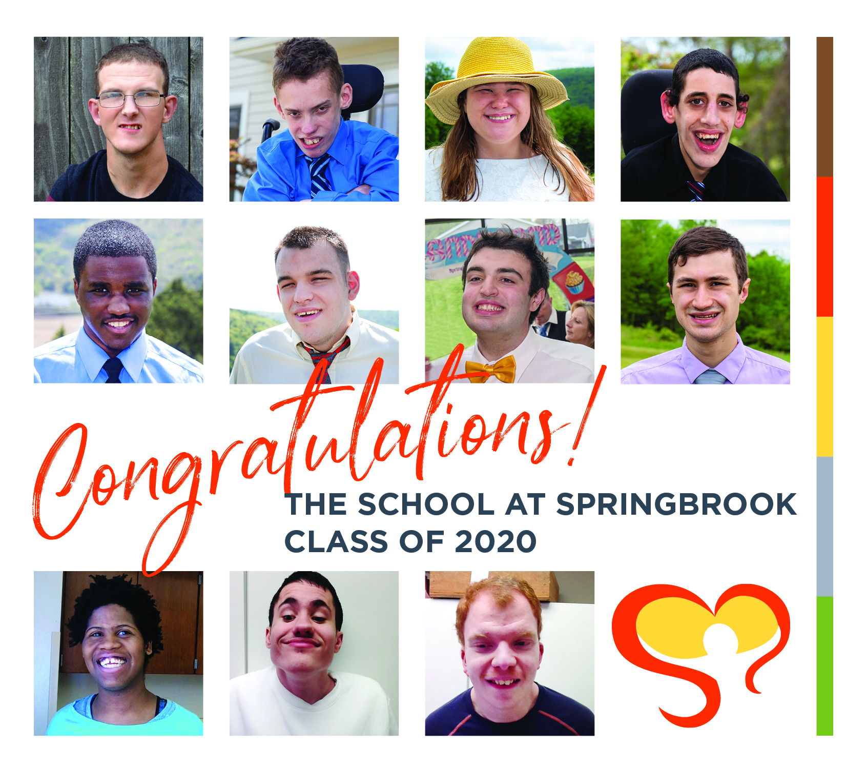 2020 CongratulationsGrads DS Ad - 2020 School at Springbrook Commencement - Take A Look Tuesday