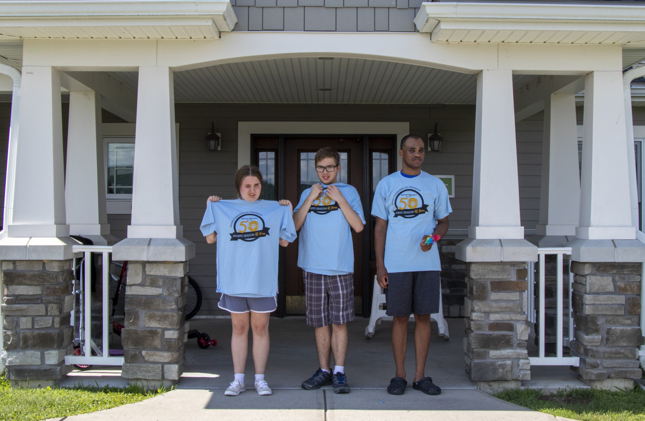 Special Olympics at Home