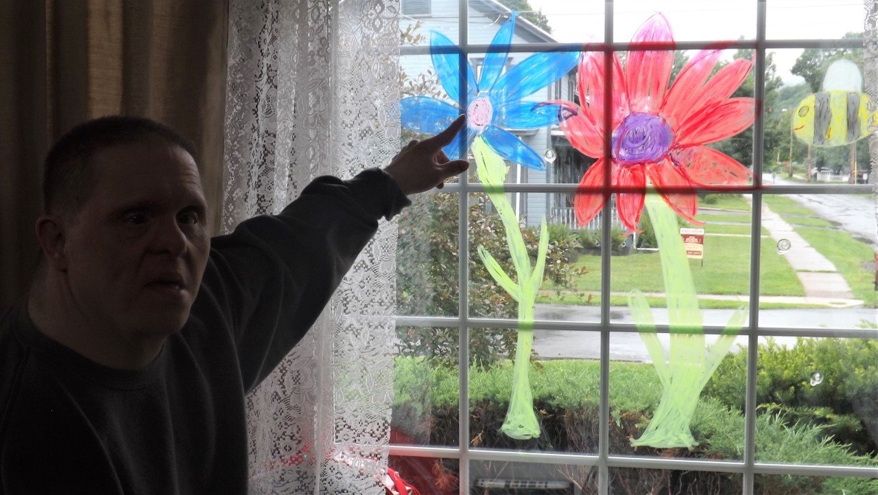 2020 WindowPainting Cook 3 - Beauty Through The Window - Take a Look Tuesday
