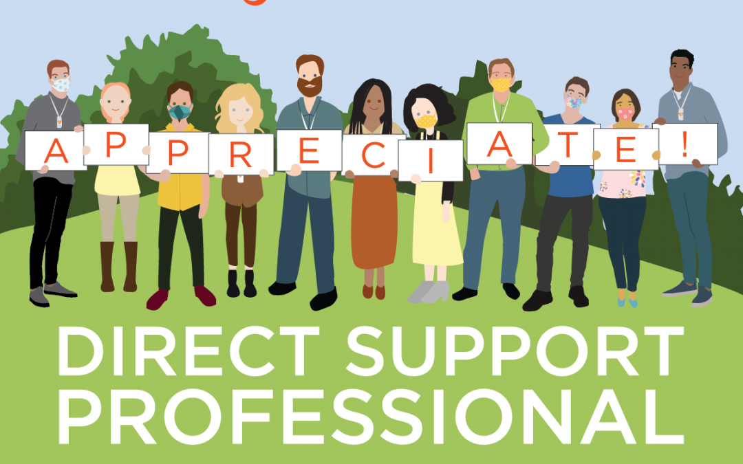 Sunday Funday – Direct Support Professional (DSP) Appreciation Week 2021!