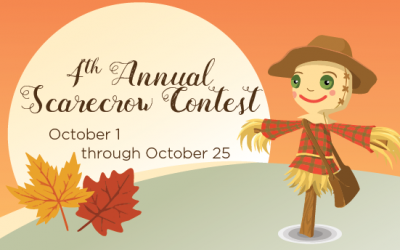 2021ScarecrowContest Scarecrow Email Header 400x250 - News & Events