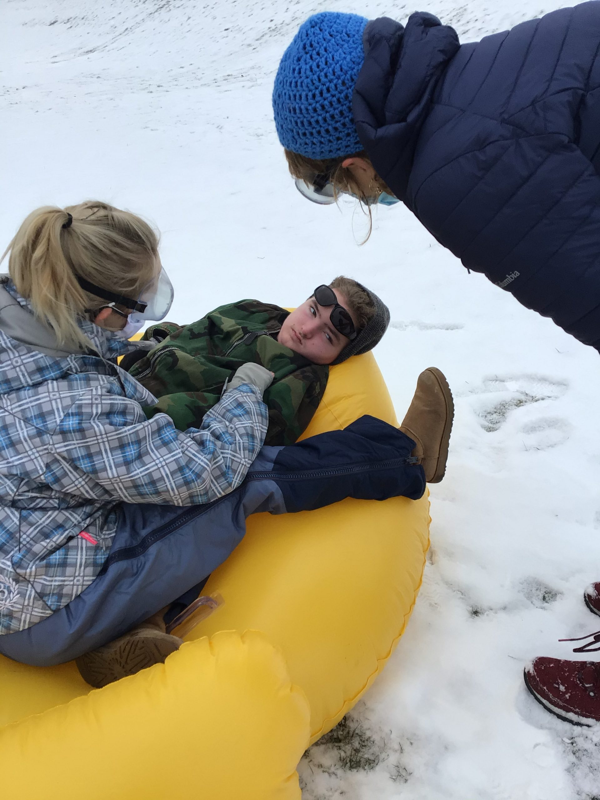 2021 DayStudentSledding School  4  jpeg OxEhjEwJ scaled - Braving The Cold In Style - Take a Look Tuesday