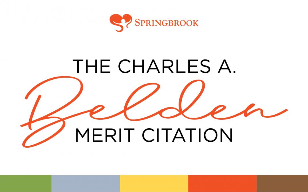 The 2020 Belden Special Merit Citation