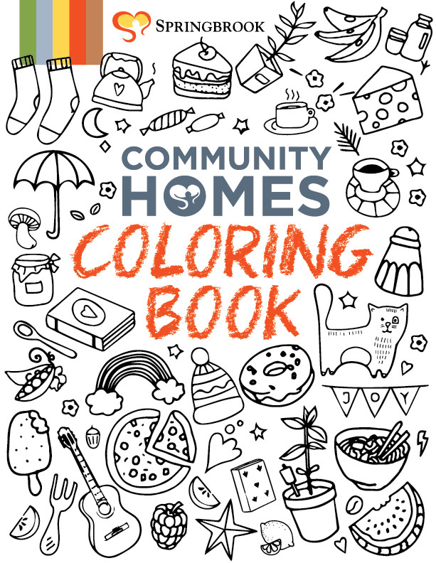 Coloring Book Cover png iVFObb3  - Johnston Circle and Kelly Corners - Fun Art Friday