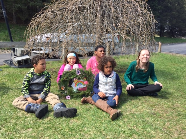 School at Springbrook Earth Day Wreath