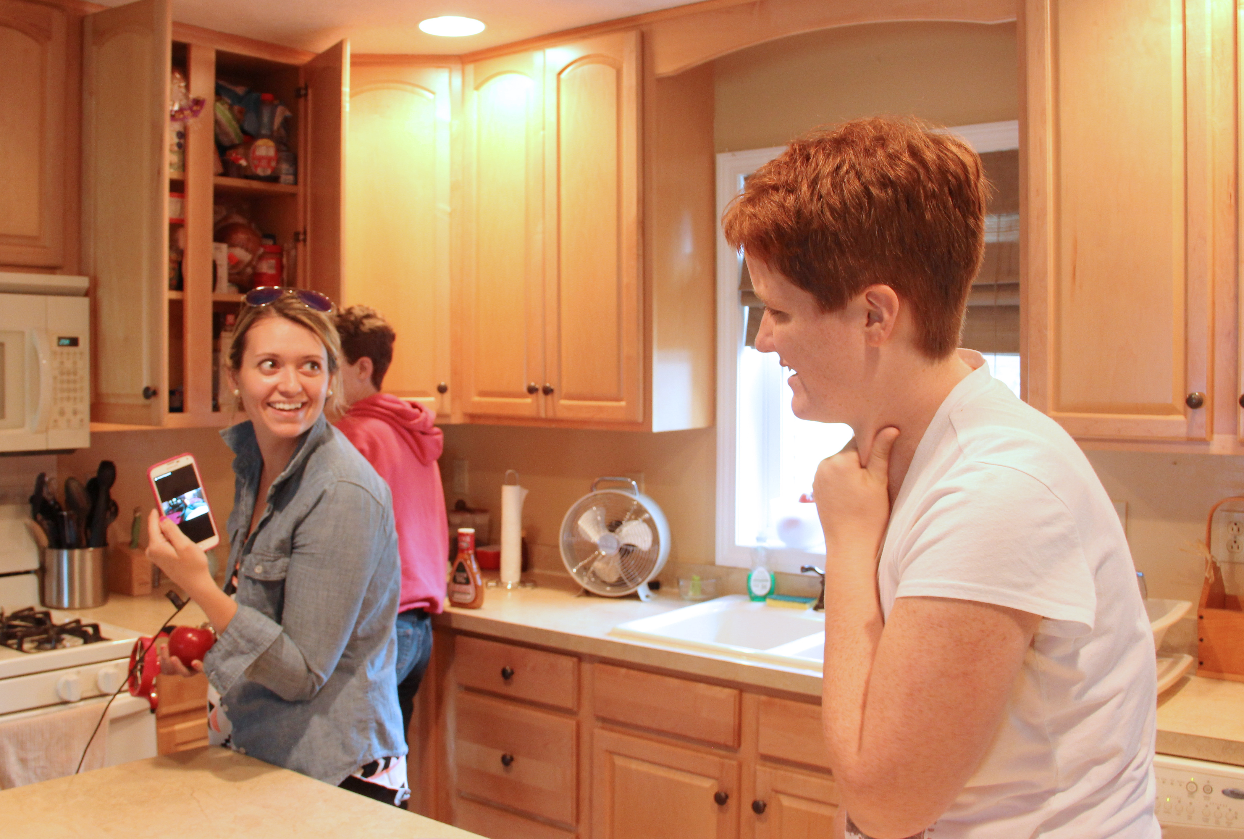 Jill in Kitchen - Housing Navigation