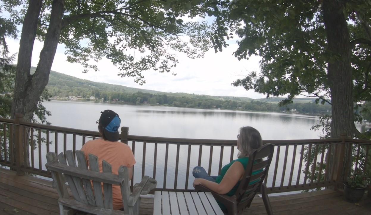 Michele on Goodyear Lake