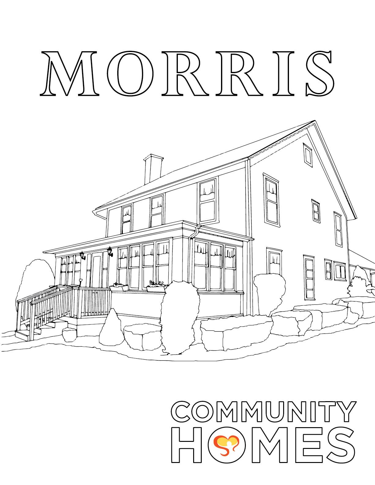 Morris copy - Milford and Morris - Fun Art Friday