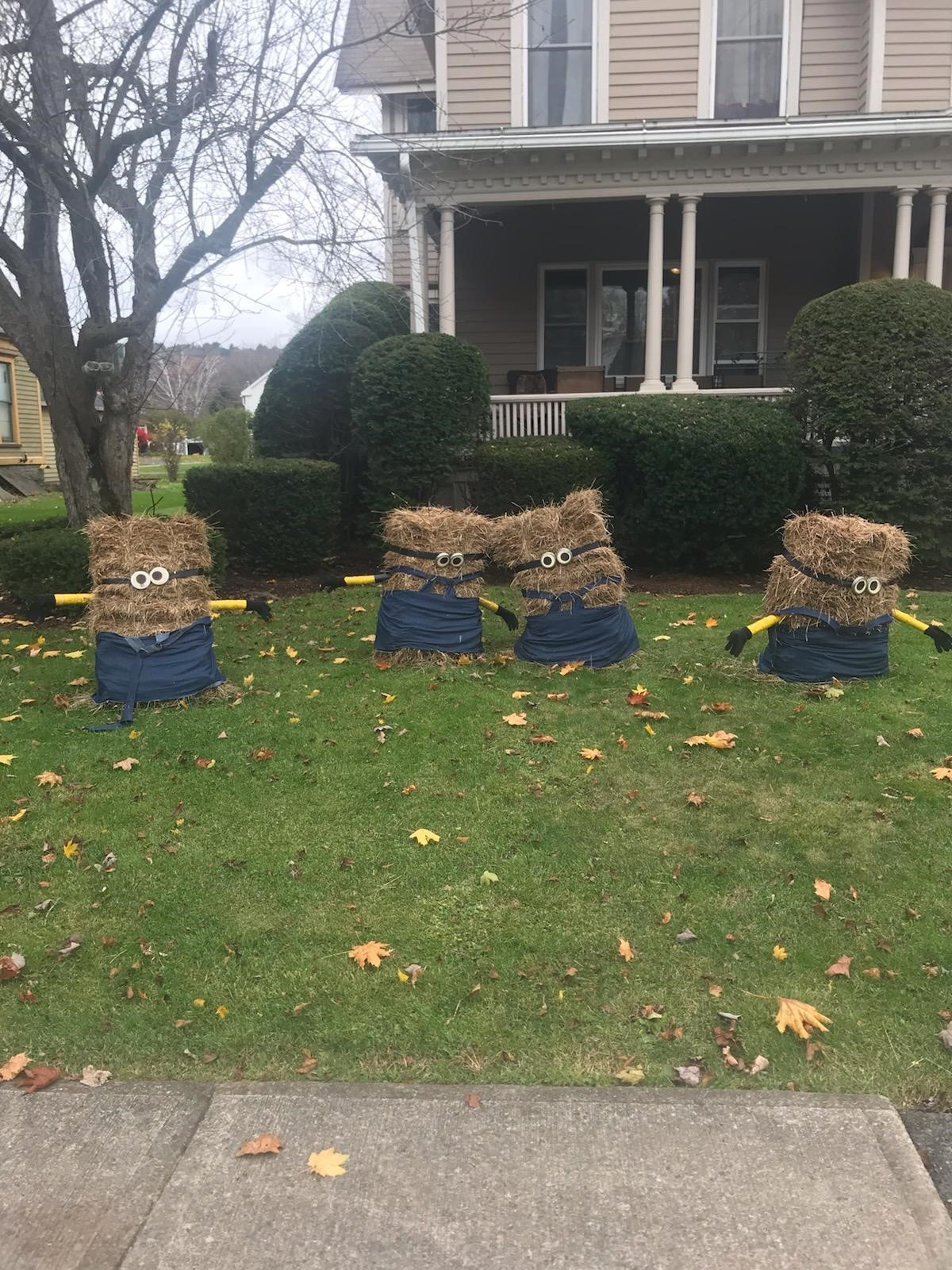 Otego - 2nd Annual Scarecrow Contest