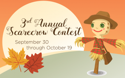 3rd Annual Community Homes Scarecrow Contest