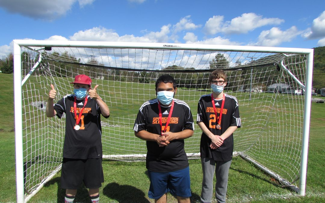 Donor Dollars at Work – Springbrook Scorpions Special Olympics are Back!