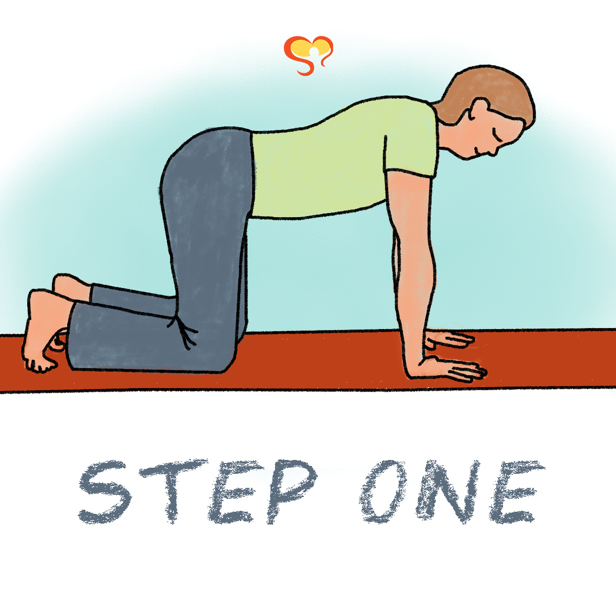 Step1 Final png 2omLX46N - Puppy Pose - Meditation Monday