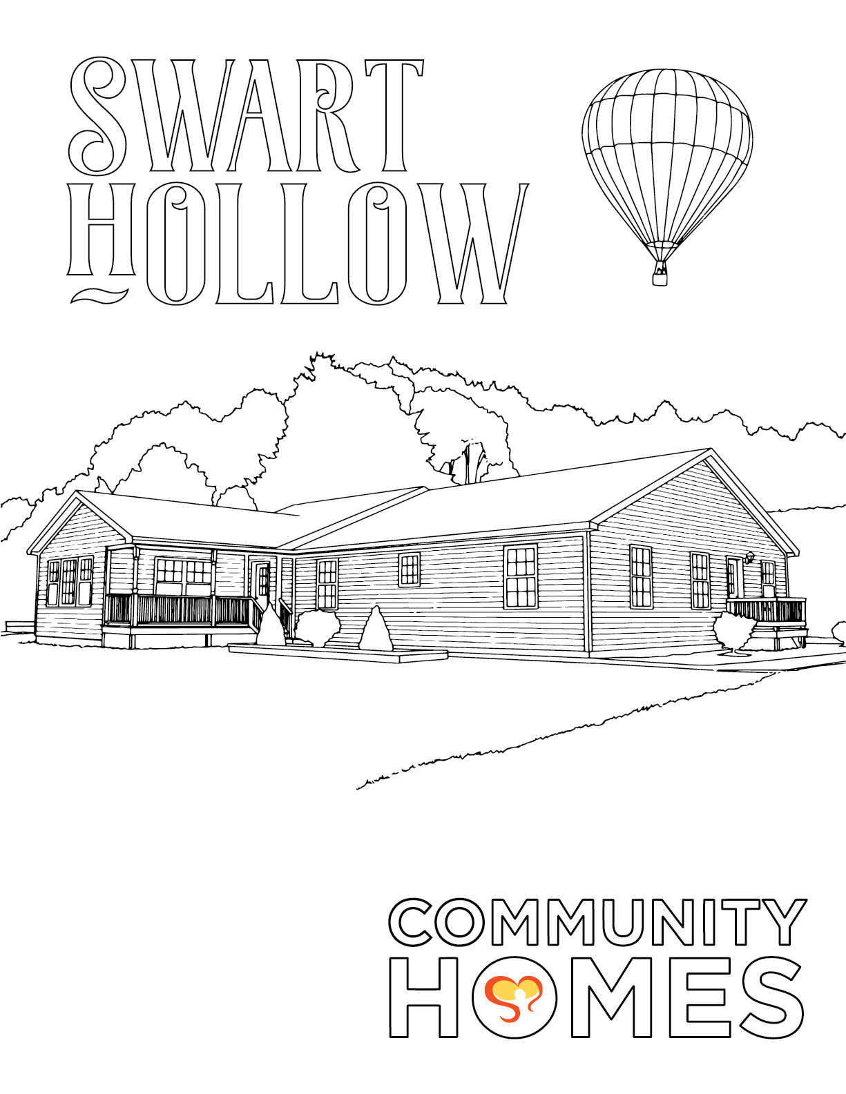 Swart Hollow - Swart Hollow and Sweet Briar - Fun Art Friday