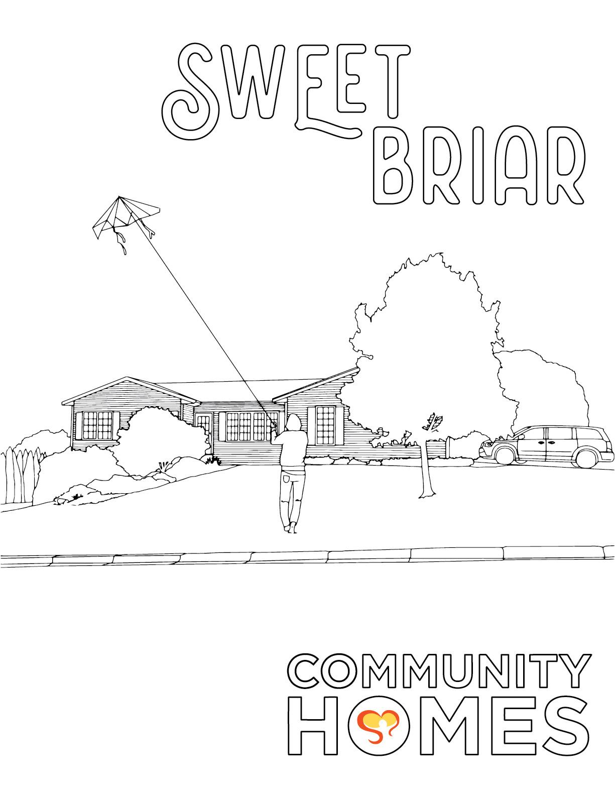 Sweet Briar - Swart Hollow and Sweet Briar - Fun Art Friday