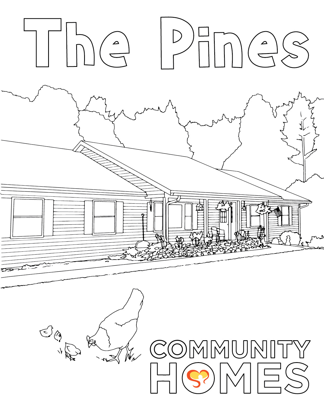 The Pines - The Pines, Walnut, and West Oneonta - Fun Art Friday