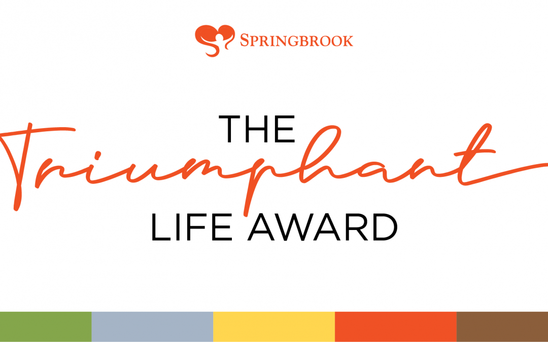 The 2020 Springbrook Triumphant Life Award